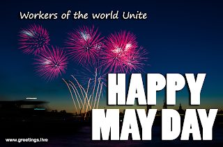 Workers of world Unite Happy May Daywishes 2019 Images