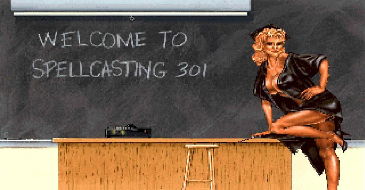 Videojuego Spellcasting 301 - Spring Break
