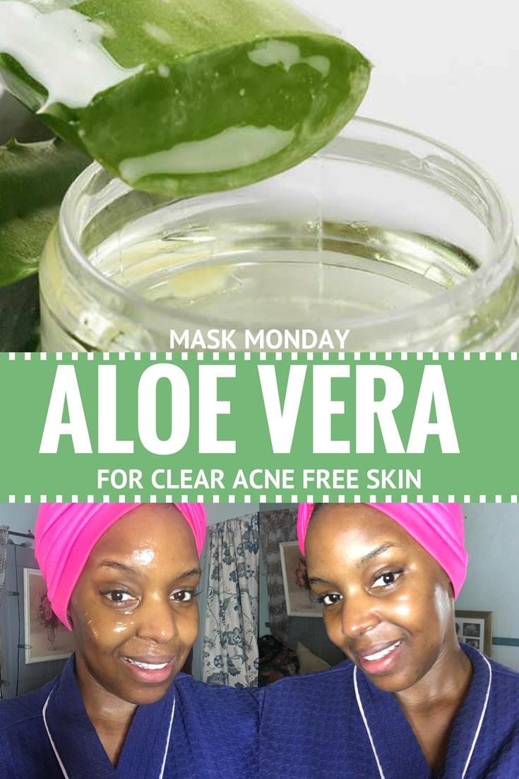 mask monday aloe vera overnight mask for acne free skin. Black Bedroom Furniture Sets. Home Design Ideas