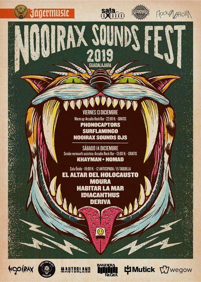 Nooirax Sound Fest 2019 poster