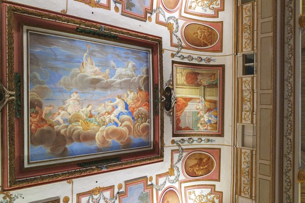 autriche burgenland eisenstadt palais esterhazy palace salle haydn