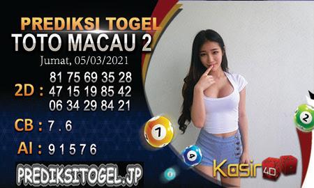 Prediksi Kasir4D Togel Macau Jumat 05 Maret 2021