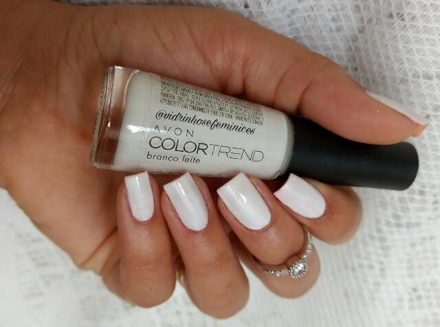 esmalte branco