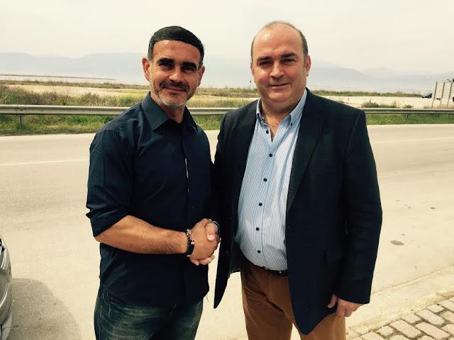 Υποψηφιότητα του Ιωάννη Χατζόπουλου με τον Βασίλη Σιδέρη στις εκλογές της ΕΠΣ Αργολίδας