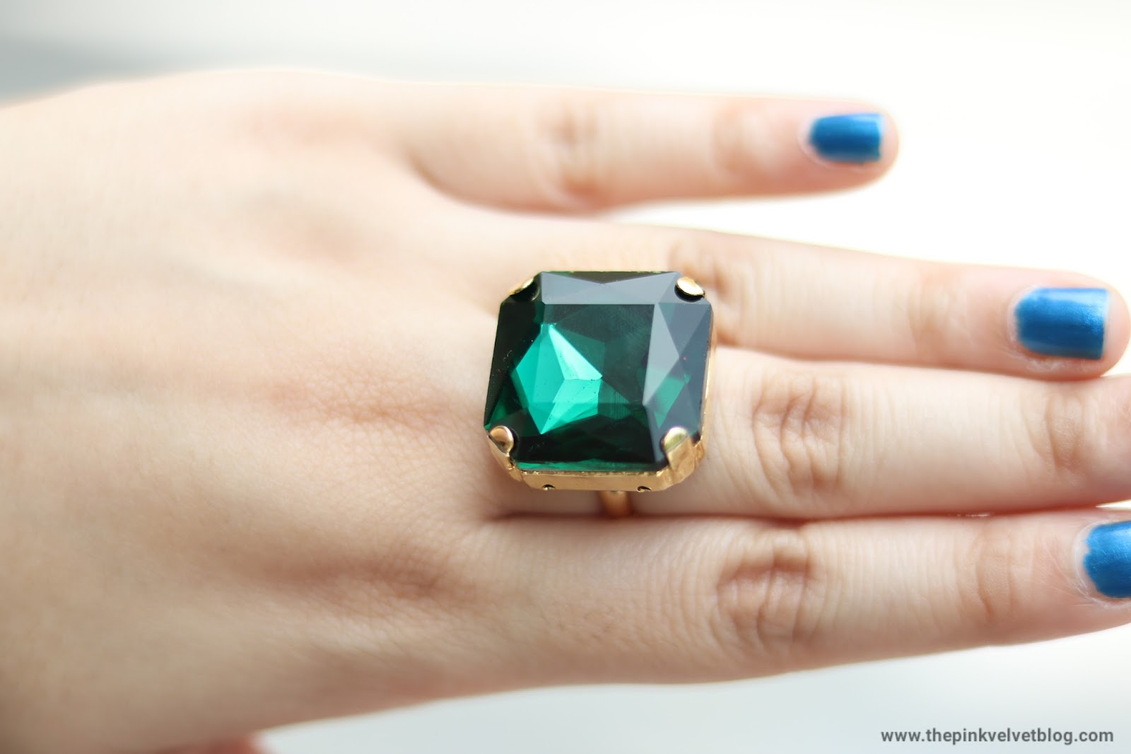 Solitaire Finger Ring in Gemstone by Khushboo Jewellery