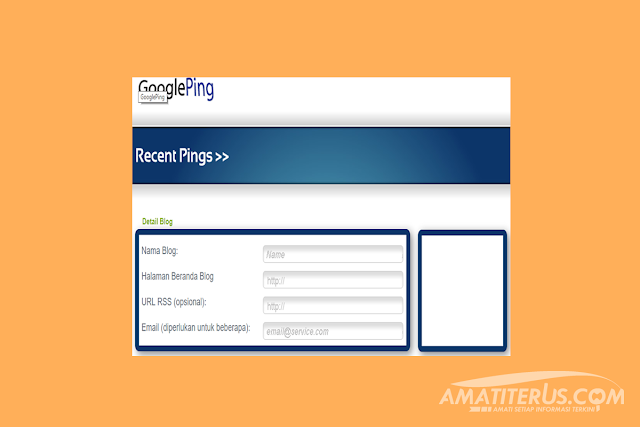 Cara Simpel Ping Artikel Blog Agar Cepat Terindex Google