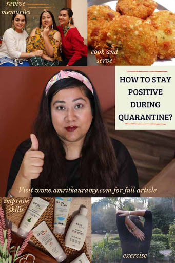 how to stay positive during quarantine? pinterest