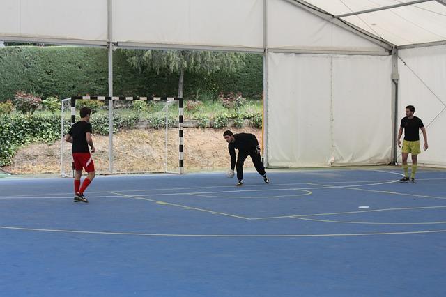 Gambar Lapangan Futsal beserta Ukurannya dan Keterangannya