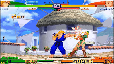 Street Fighter Alpha 3 Max PSP ISO For Android | PPSSPP Emulator