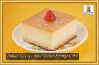 Indian Cake Recipes - Amul Butter Sponge Cake