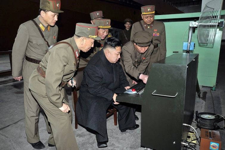 north korea internet hacked