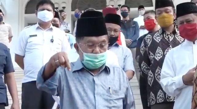 Sikapi Situasi Terkini, Jusuf Kalla Cemas Indonesia Kembali ke Demokrasi Jalanan