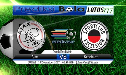 PREDIKSI SKOR Ajax vs Excelsior 15 Desember 2017