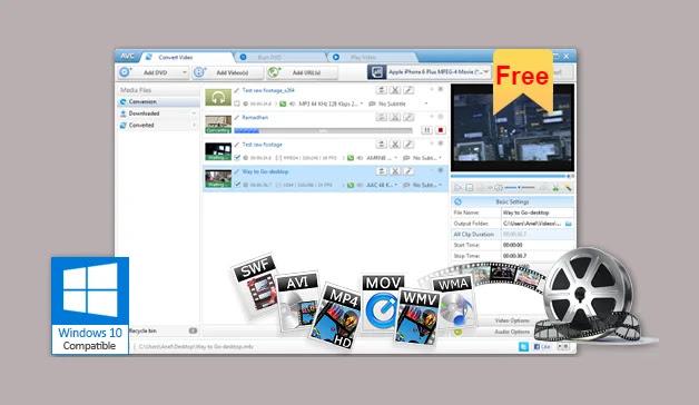 تحميل برنامج تحويل صيغ الفيديو 2020 Any Video Converter للكمبيوتر مجانا