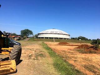 Campo do Mário Covas é preparado para implantação do gramado
