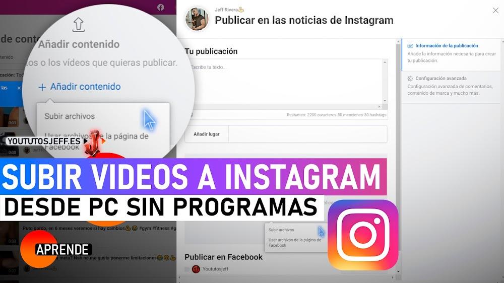 Como Subir Videos a Instagram desde PC SIN DESCARGAR NADA