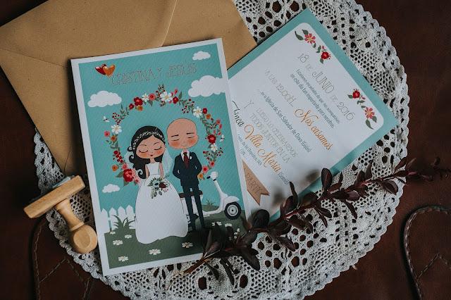 invitaciones boda originales la suite 64 - blog mi boda