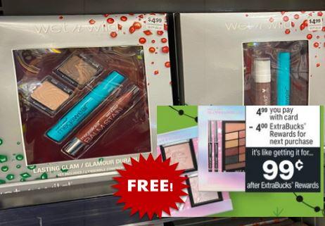 free wet wild gift sets cvs