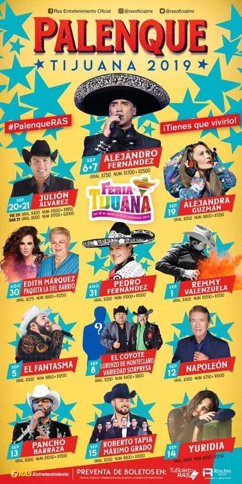 palenque tijuana 2019