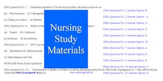 Nursing Study Material