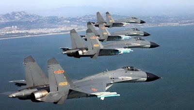 Jumlah Pesawat Tempur Tiongkok Yang Besar dan Canggih