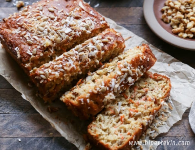 PALEO MORNING GLORY QUICK BREAD