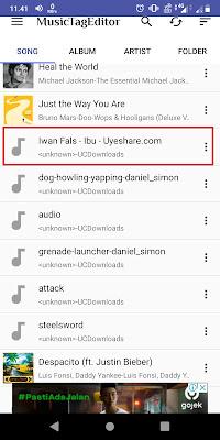 Sobat bisa langsung pilih lagu yang ingin Sobat edit.