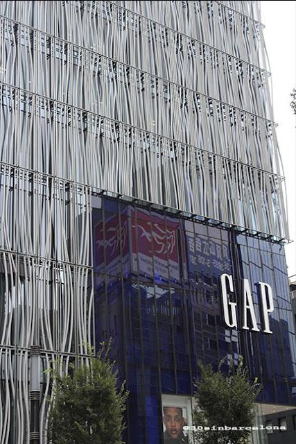 Gap Shop in Ginza, Tokyo