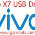 Vivo X7 USB Driver Download