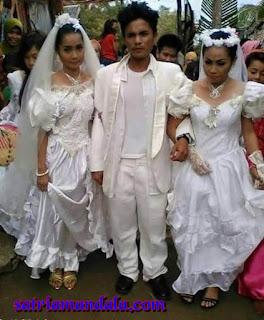 Pria Ini Menikahi 2 Wanita Sekaligus