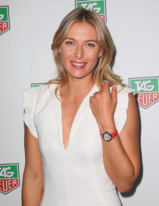 Tag Heuer từng là một trong những nhà tài trợ lớn nhất của Sharapova