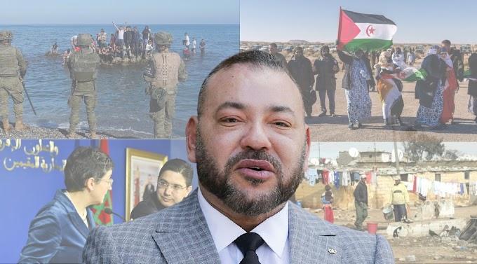 La crisis migratoria de Ceuta da la razón al pueblo saharaui, aísla al régimen marroquí y evidencia la delicada situación social de Marruecos.