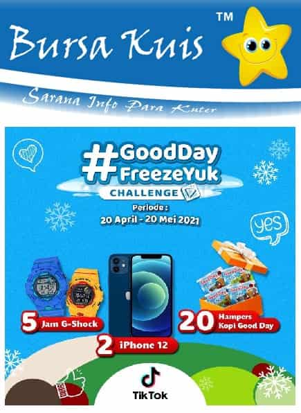 Tik Tok Challenge Berhadiah Iphone 12