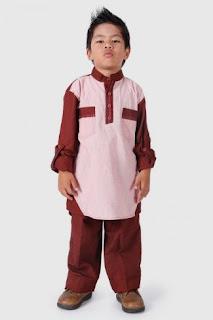 Baju muslim anak laki-laki fashionable