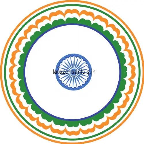 republic day drawing like rangoli