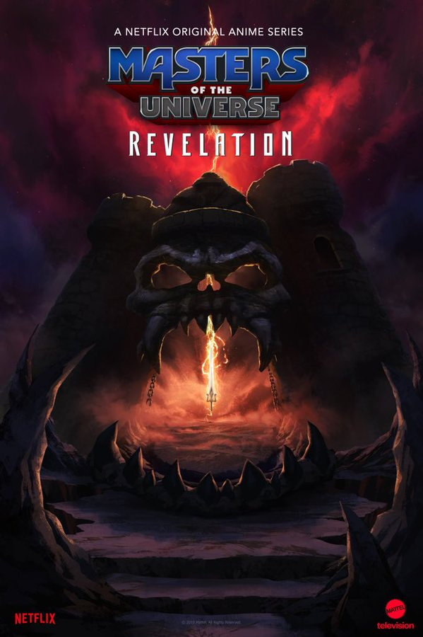 Poster de  Masters of the Universe Revelation - Netflix