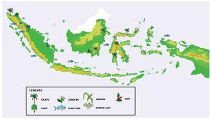 peta persebaran sumber daya alam indonesia www.simplenews.me