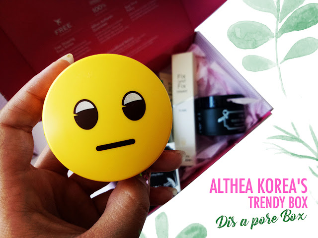 Innisfree No Sebum X Emoji Mineral Powder-Althea-Box