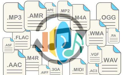 شرح تحويل صيغ الملفات الصوتية بدون برامج