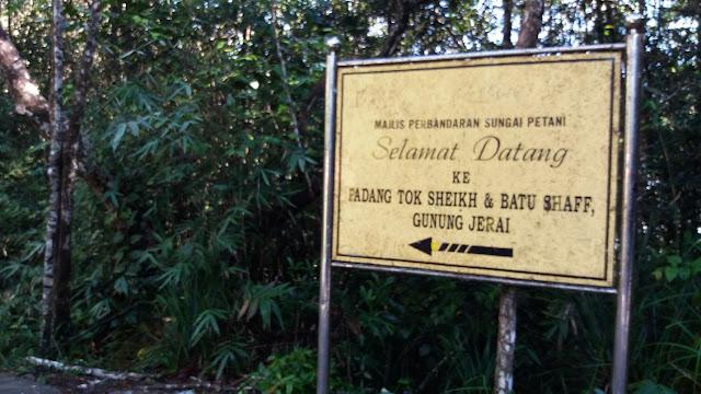 Padang Tok Sheikh & Batu Shaff