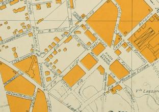 Vecchia Mappa Appio Latino