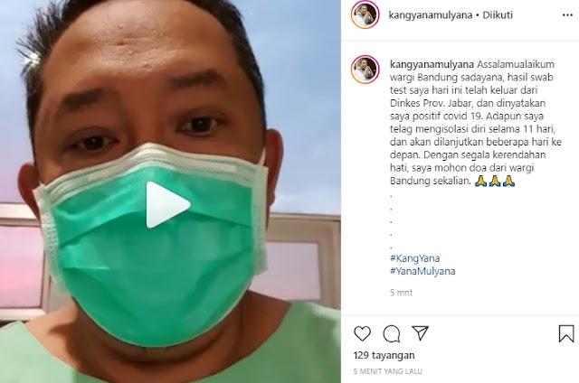 Wakil Wali Kota  Bandung Yana Mulyana Positif Terkena Covid-19