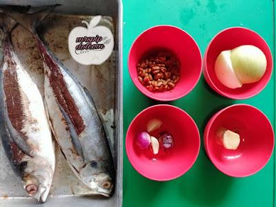 Resipi Ikan Gerunggong Masak Taucu , Sedap & Mudah Disediakan