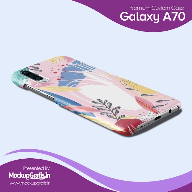Mockup Custom Case SAMSUNG Galaxy A70