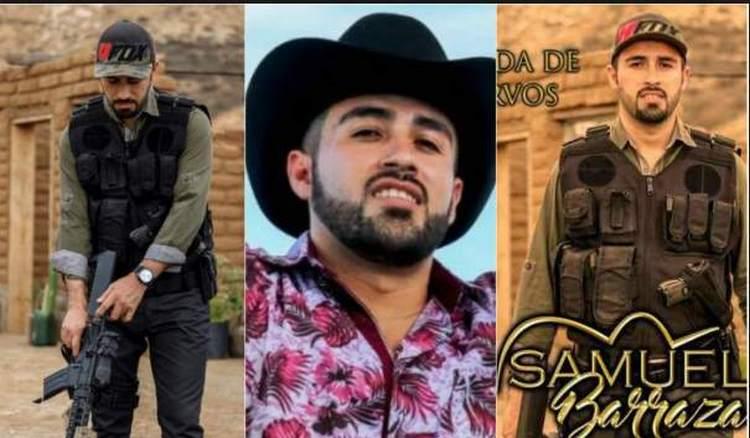 """Ejecutan a otro cantante de narcocorridos... Samuel Barraza y su acompañante mueren a balazos con armas """"matapolicías"""""""