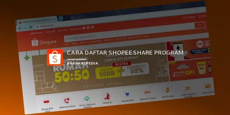Cara Daftar Shopee Share Program