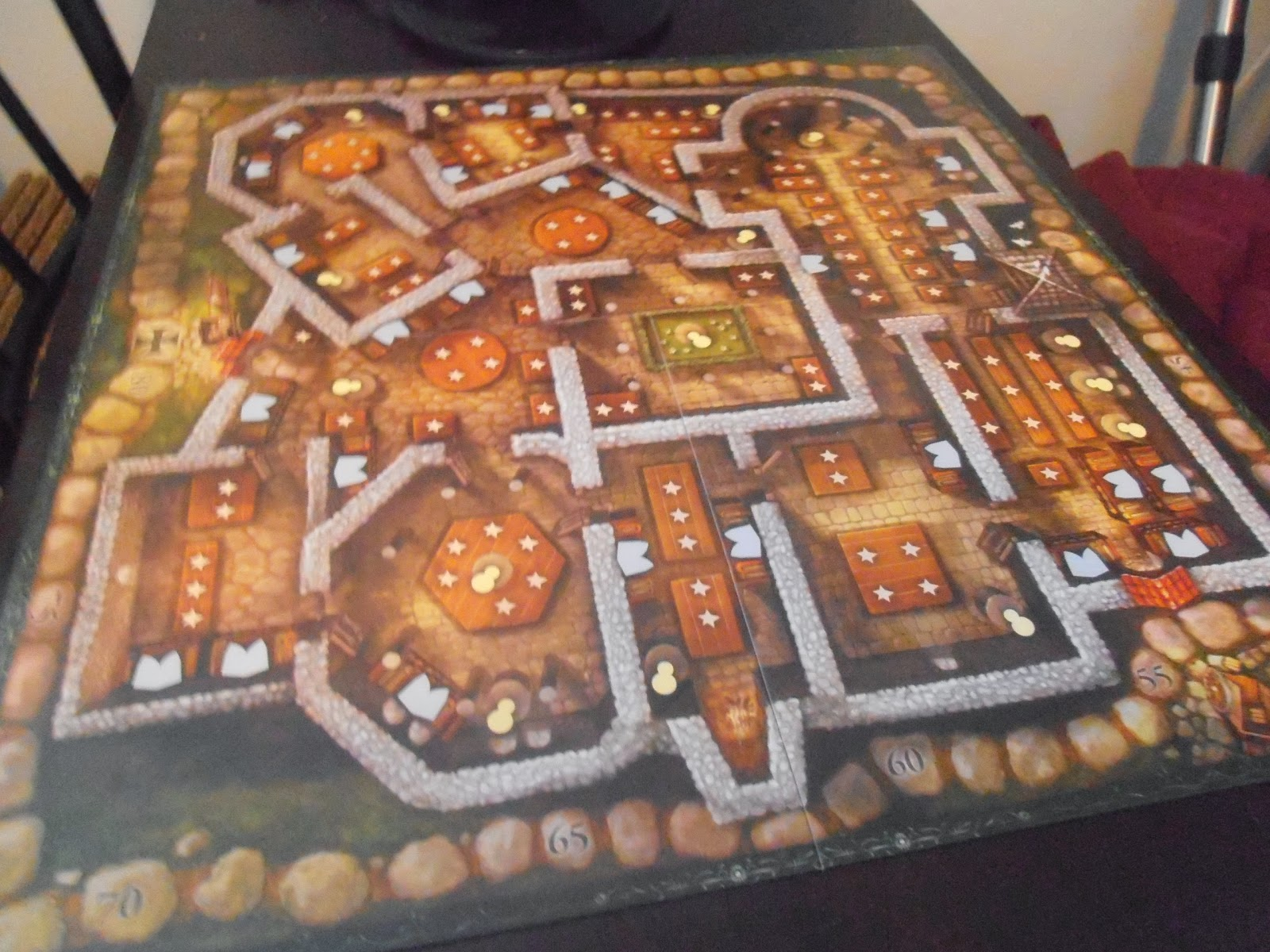 Templar: The Secret Treasure by Queen Games = Board