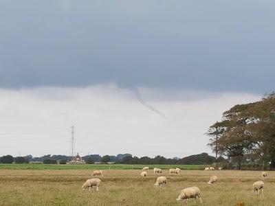 Funnel Cloud 23.09.16 in Lydd, Kent, UK.