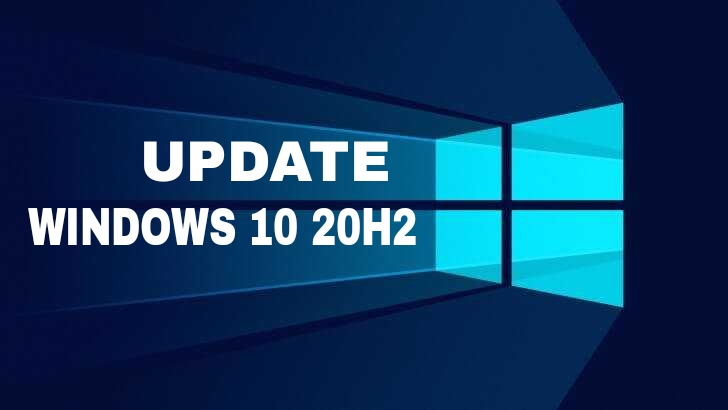 Cara update windows 10 20H2