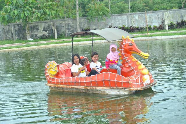 Sepeda air wisata lembah asri Purbalingga